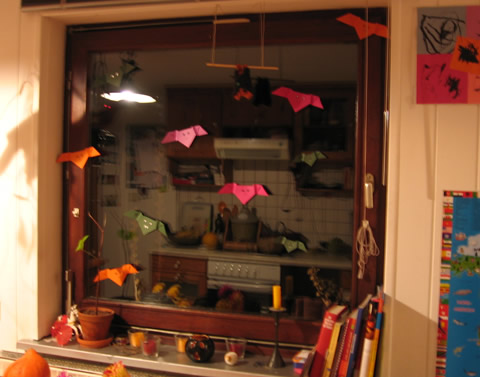 bats at the window