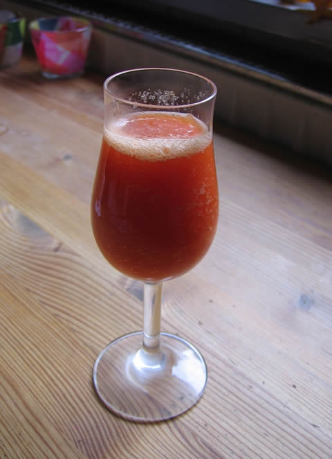 papaya coco drink