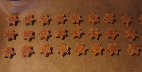 j.'s cinnamon stars, waiting to be baken